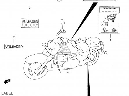Suzuki VL1500 1999 (X) parts lists and schematics