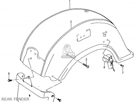 Suzuki Vl1500 1999 (x) parts list partsmanual partsfiche