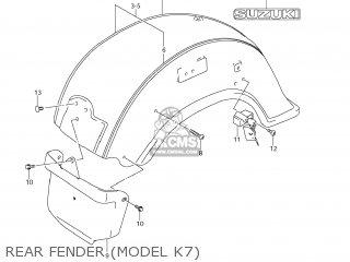 Suzuki Vl1500 Boulevard C90 2005 (k5) Usa (e03) parts list