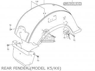 Suzuki VL1500 BOULEVARD C90 2007 (K7) USA (E03) parts