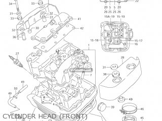 Suzuki Vl1500 Intruder 1998 (w) Usa (e03) parts list