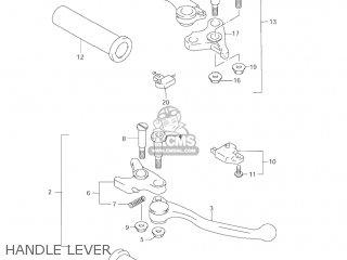Suzuki VL1500 INTRUDER 1998 (W) USA (E03) parts lists and