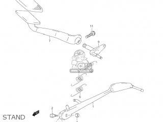 Suzuki Vl1500 Intruder 1998 (w) Usa (e03) parts list