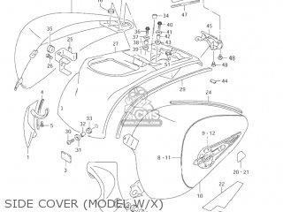 Suzuki VL1500 INTRUDER 2000 (Y) USA (E03) parts lists and