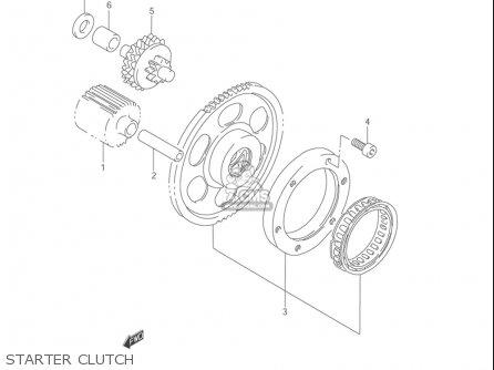 Suzuki Vl1500 b Intruder 1998-2004 usa Starter Clutch