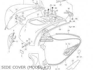 Suzuki VL1500B INTRUDER 2003 (K3) USA (E03) parts lists