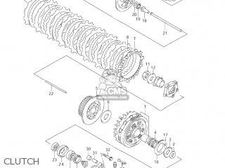 Suzuki VL1500B INTRUDER 2004 (K4) USA (E03) parts lists