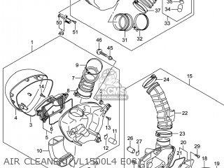 Suzuki Vl1500b Intruder 2014 (l4) Usa (e03) parts list