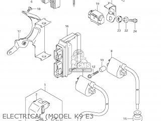 Suzuki VL800 BOULEVARD C50 2006 (K6) USA (E03) parts lists