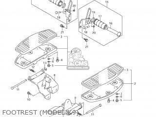 Suzuki Vl800 Boulevard C50 2006 (k6) Usa (e03) parts list