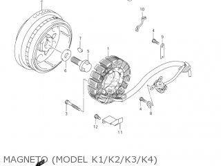 Suzuki VL800 VOLUSIA 2001 (K1) USA (E03) parts lists and