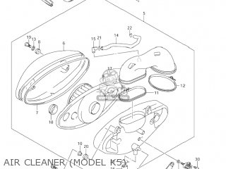 Suzuki VL800 VOLUSIA 2003 (K3) USA (E03) parts lists and