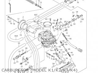 Suzuki VL800 VOLUSIA 2004 (K4) USA (E03) parts lists and