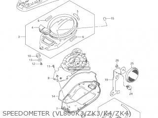 Suzuki Vl800 Volusia 2004 (k4) Usa (e03) parts list