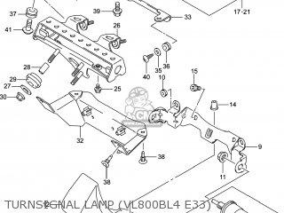 Suzuki VL800B VOLUSIA 2014 (L4) USA (E03) parts lists and
