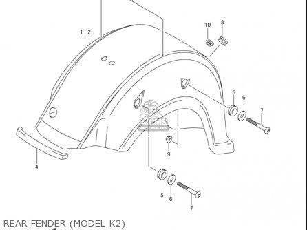 Untitled — C50 Suzuki 05 Model Rearwheel