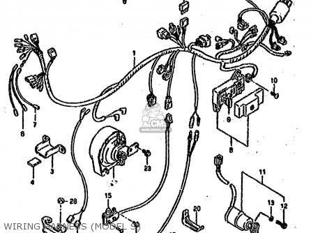 Suzuki Vs1400 1992 (glfn) parts list partsmanual partsfiche