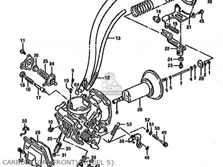 Suzuki Vs1400 1993 (glfp) parts list partsmanual partsfiche