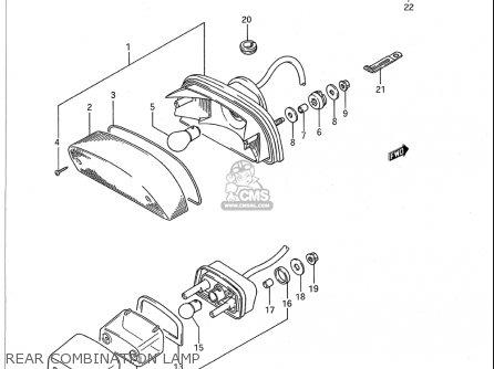 Suzuki Vs1400 Glp 1987-1995 (usa) parts list partsmanual
