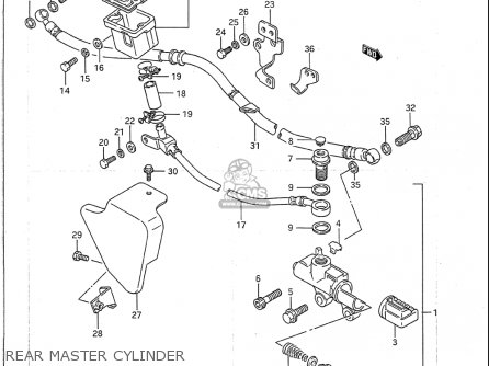 Suzuki Vs1400 Glp 1987-1995 (usa) parts list partsmanual
