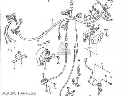 Wire Diagram For A 1995 Suzuki Intruder 800 : 43 Wiring