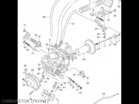 Suzuki Vs1400 Glp Intruder 1996-2003 (usa) parts list