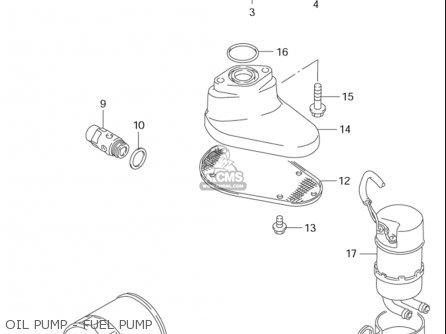 Suzuki Vs1400 Glp Intruder 1996-2003 (usa) parts list