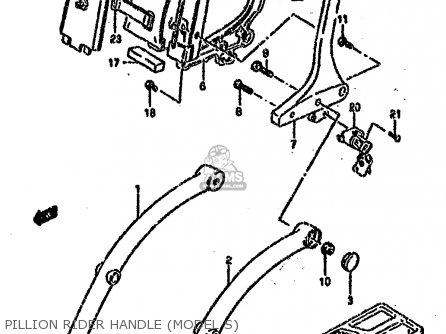Suzuki Vs1400glp 1990 (l) (e01 E04 E17 E21 E22 E39) parts