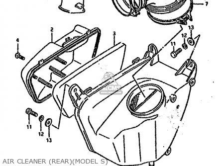 Suzuki VS1400GLP 1995 (S) (E02 E04 E22 E24 E34 E37) parts