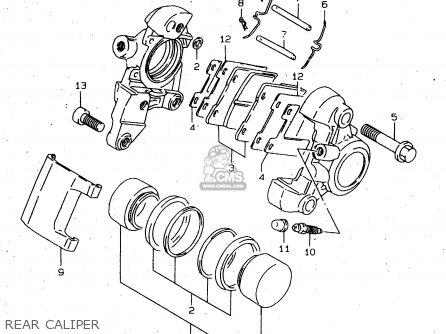 Suzuki Vs1400glp 1998 (w) (e02 E04 E17 E22 E24 E34) parts