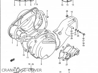 Suzuki Vs1400glp Intruder 1987 (h) Usa (e03) parts list