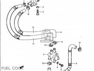 Suzuki Vs1400glp Intruder 1987 (h) Usa (e03) parts list