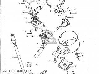 Suzuki VS1400GLP INTRUDER 1987 (H) USA (E03) parts lists