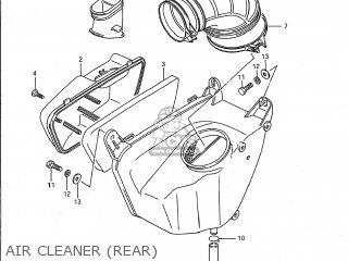 Suzuki VS1400GLP INTRUDER 1988 (J) USA (E03) parts lists