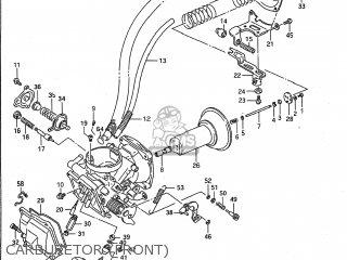 Suzuki VS1400GLP INTRUDER 1989 (K) USA (E03) parts lists