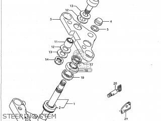 Suzuki VS1400GLP INTRUDER 1992 (N) USA (E03) parts lists