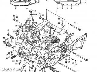 Suzuki VS1400GLP INTRUDER 1993 (P) USA (E03) parts lists