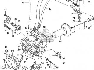 Suzuki Vs1400glp Intruder 1996 (t) Usa (e03) parts list