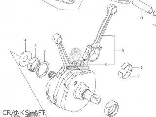 Suzuki VS1400GLP INTRUDER 1996 (T) USA (E03) parts lists