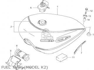 Suzuki Vs1400glp Intruder 1996 (t) Usa (e03) parts list