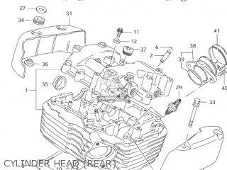 Suzuki VS1400GLP INTRUDER 1998 (W) USA (E03) parts lists