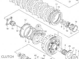 Suzuki VS1400GLP INTRUDER 2001 (K1) USA (E03) parts lists