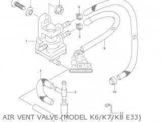 Suzuki VS1400GLP INTRUDER 2004 (K4) USA (E03) parts lists