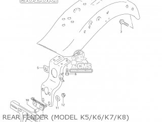 Suzuki VS1400GLP INTRUDER 2004 (K4) USA (E03) parts lists