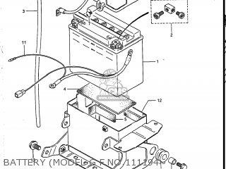 Suzuki VS700GLEF INTRUDER 1986 (G) USA (E03) parts lists