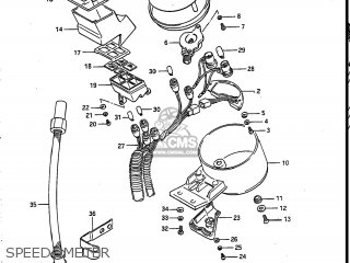 Suzuki Vs700glef Intruder 1986 (g) Usa (e03) parts list