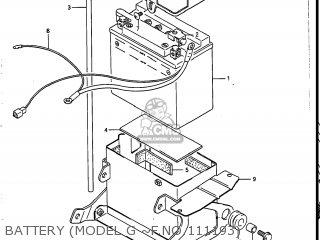 Suzuki Vs700glef Intruder 1987 (h) Usa (e03) parts list