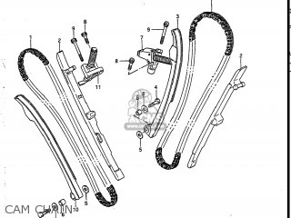 Suzuki VS700GLEF INTRUDER 1987 (H) USA (E03) parts lists