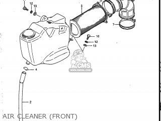 Suzuki VS700GLEP INTRUDER 1987 (H) USA (E03) parts lists