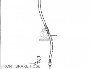 Suzuki Vs700glp Intruder 1988 (j) Usa (e03) parts list